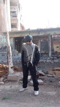 Qusai, in Moadmiya, Syria
